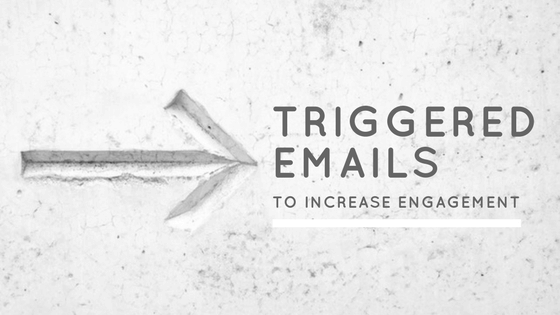 Using triggered email messages