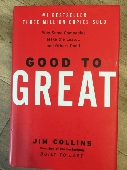 Jim Collins: Good to Great: Why Some Companies Make the Leap...and Others Don't
