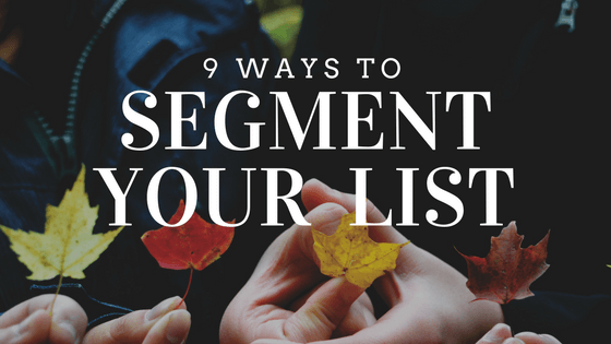 How to get started with list segmentation