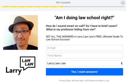 larry law law form example