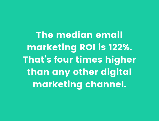 marketing roi statistic