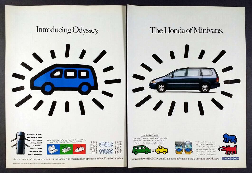 1995 Honda ad