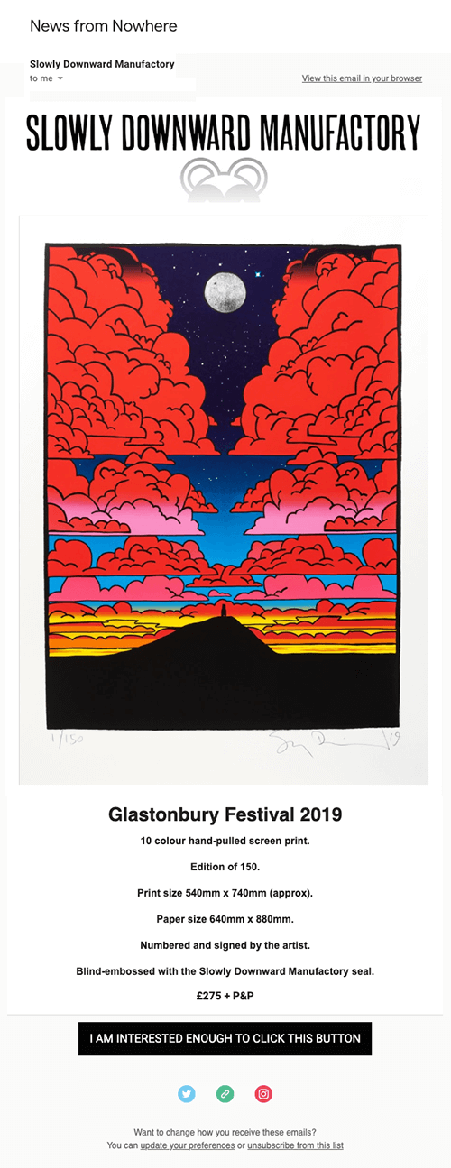 Stanley donwood email