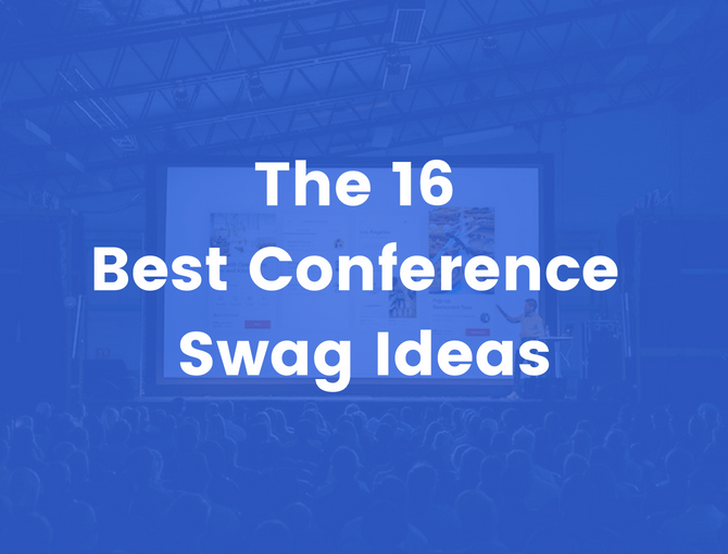 best conference swag ideas