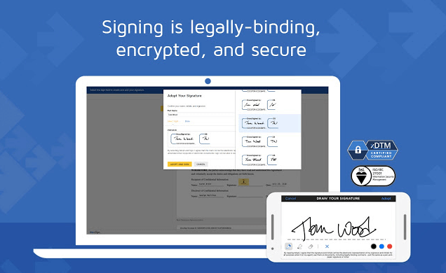 Docusign Chrome Extension