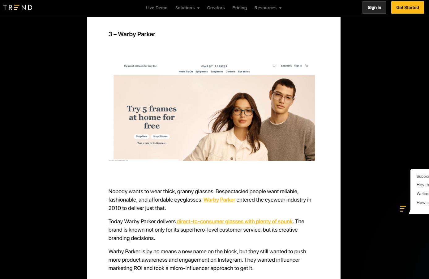 marketing case study examples