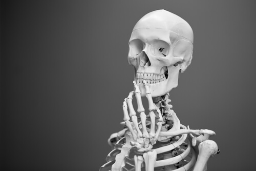 Skeleton thinking about stuff