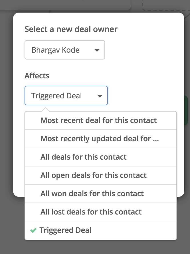 Announcing 'Triggered Deal' in Automations