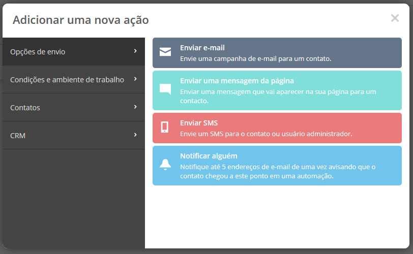 Automação Marketing SMS