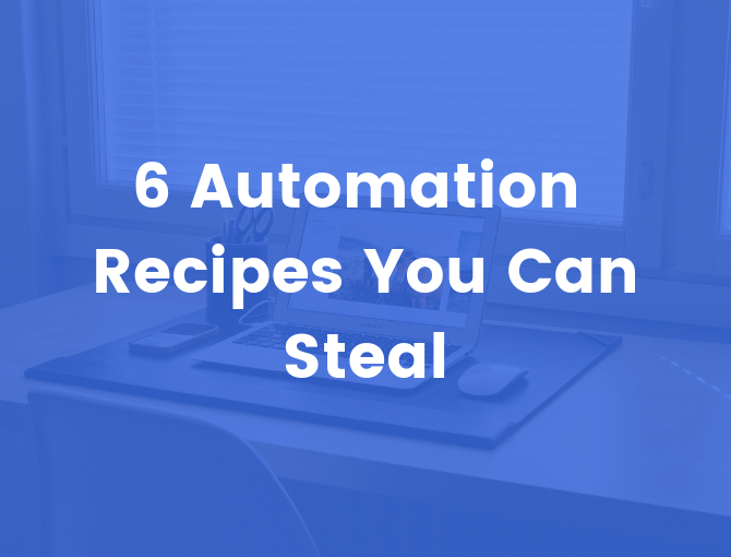 Automation Templates and Recipes