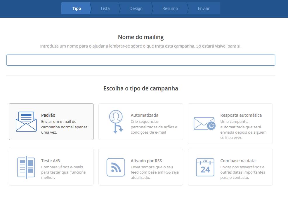 exemplos de email marketing plataforma