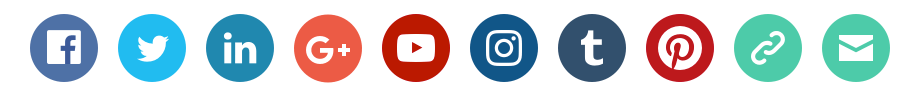New Social Icons