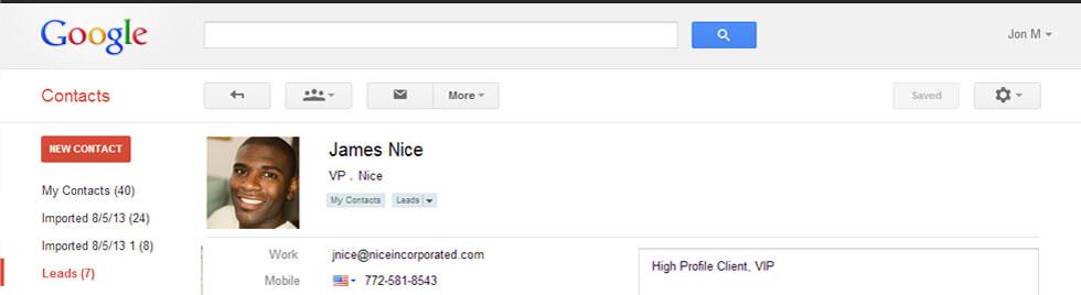 Google Contacts Integration & App | ActiveCampaign
