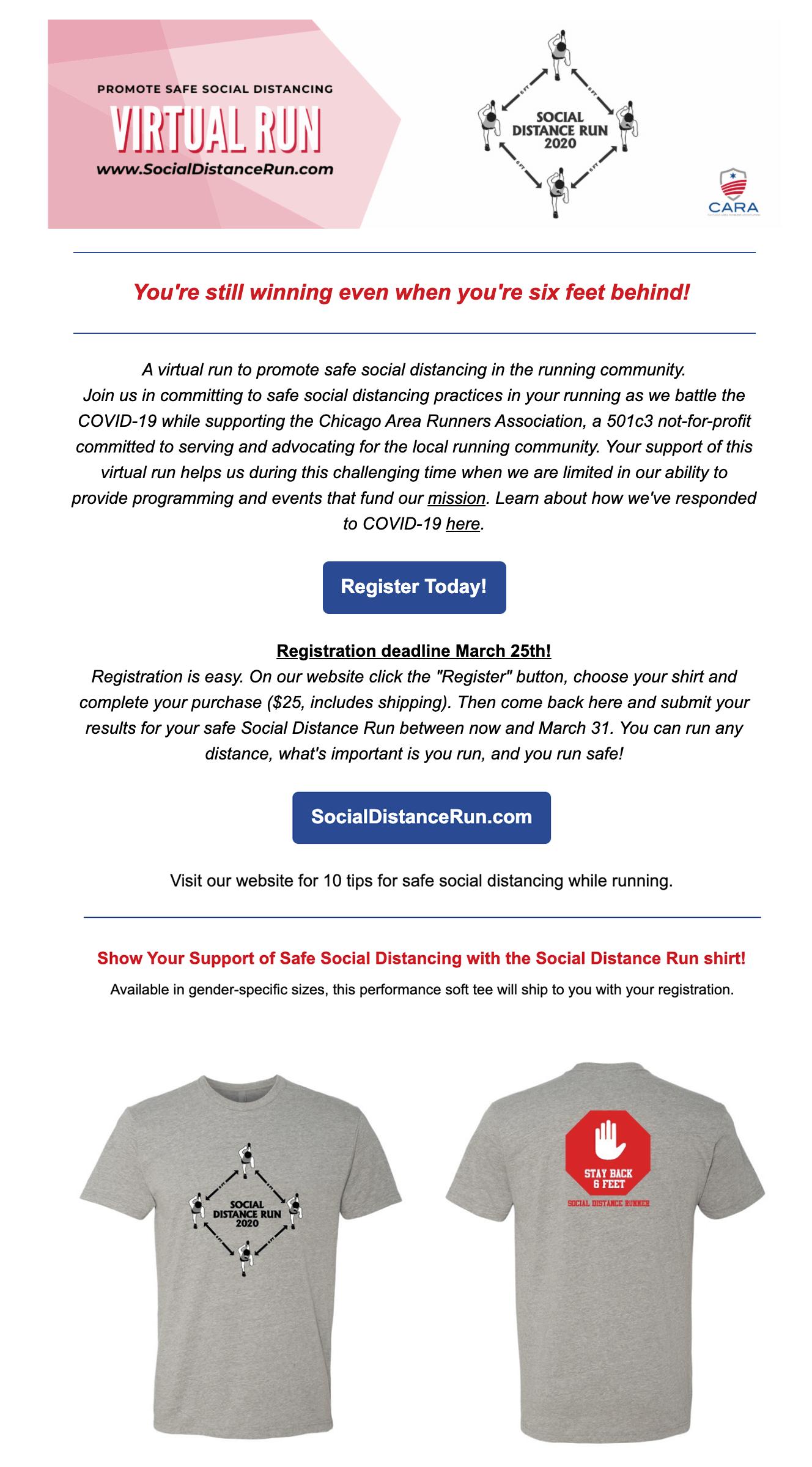 CARA email