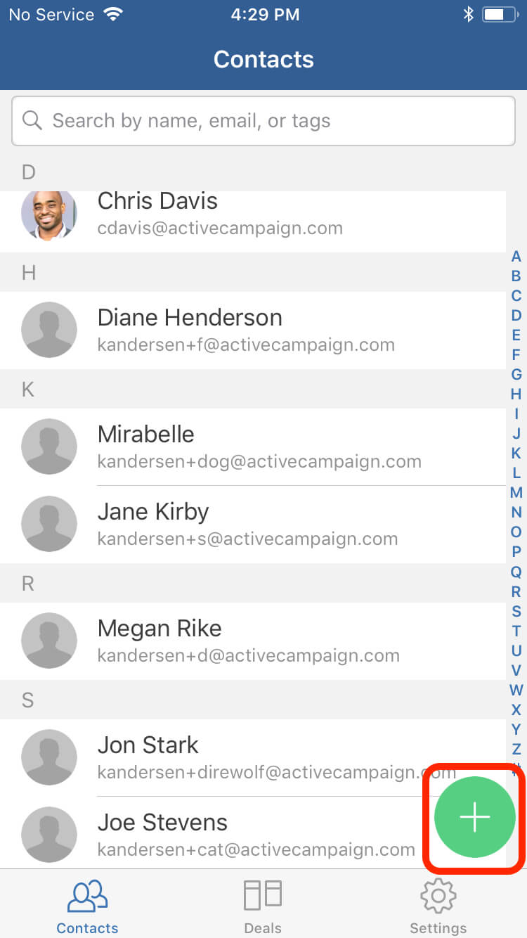 Guide to ActiveCampaign Deals CRM for iOS | ActiveCampaign