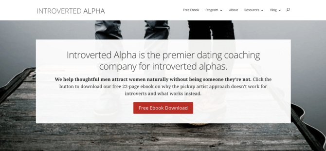 Introverted Alpha branding