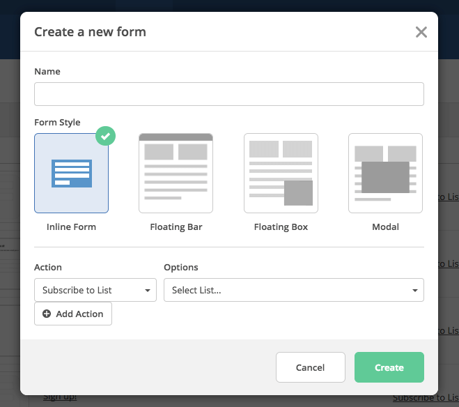 Form Styles: 4 Ways to Create Forms | ActiveCampaign