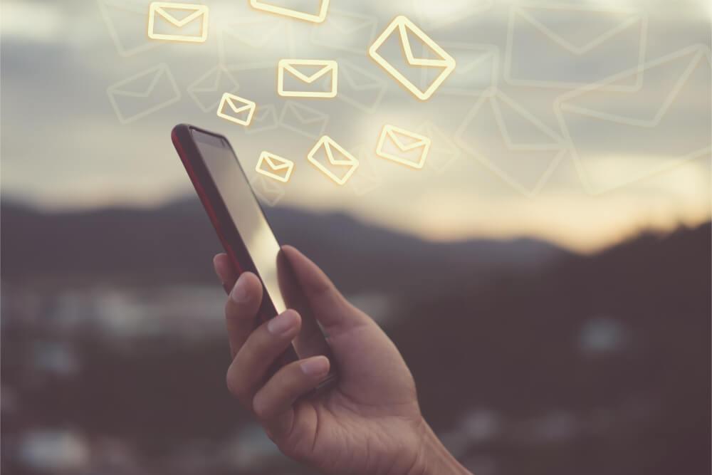 disparo de email marketing