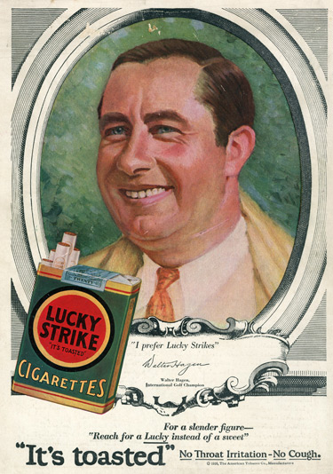 Lucky Strikes ad