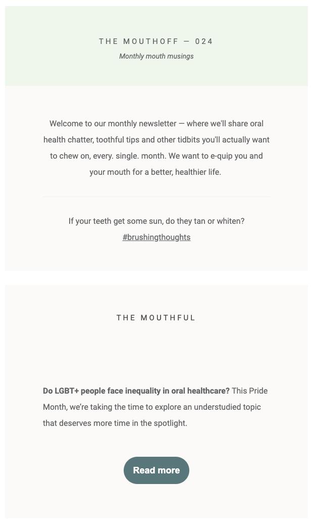 Quip email