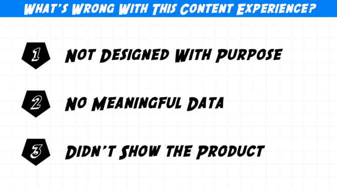 what's wrong with content marketing