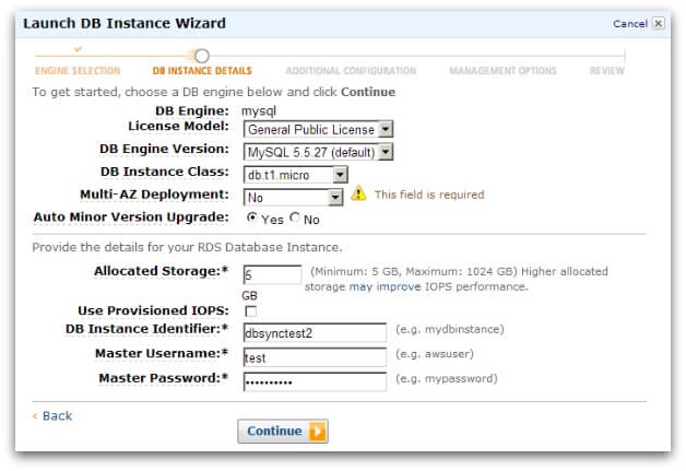 Using Database Sync With Amazon RDS | ActiveCampaign Help