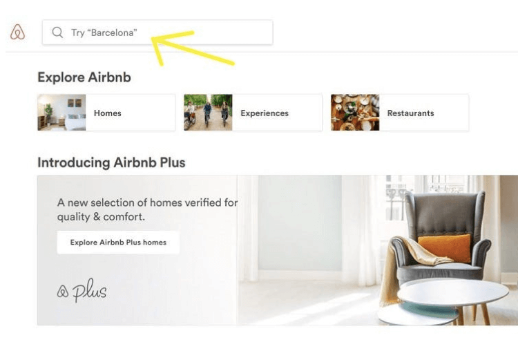 airbnb microcopy example