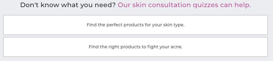 Platinum skin care quiz