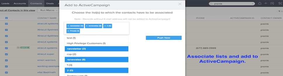 Zoho CRM Integration & App | ActiveCampaign