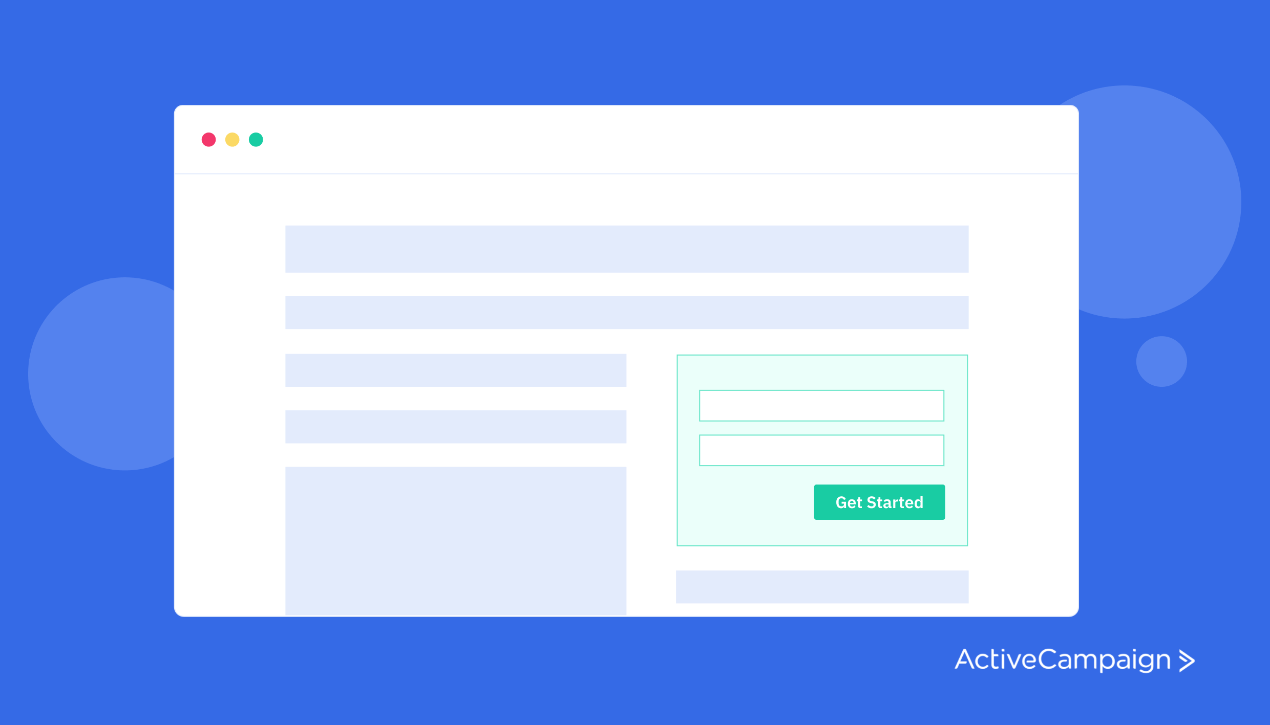 Build a high-quality email list with opt-ins