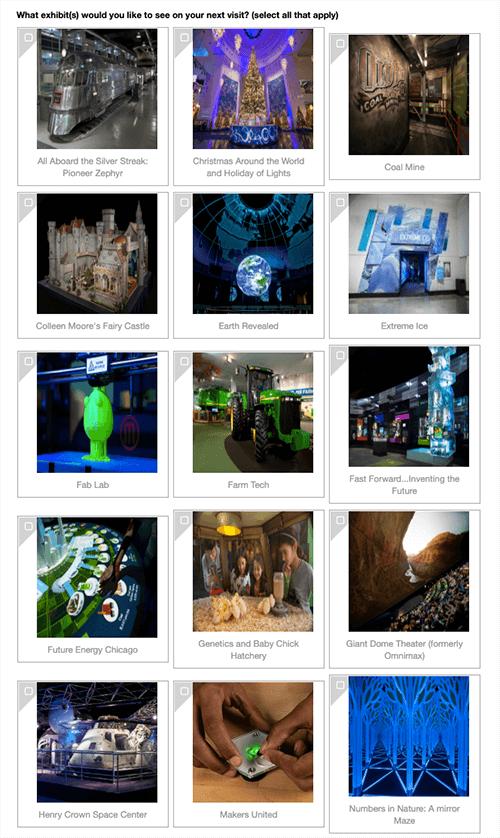 MSI exhibit list