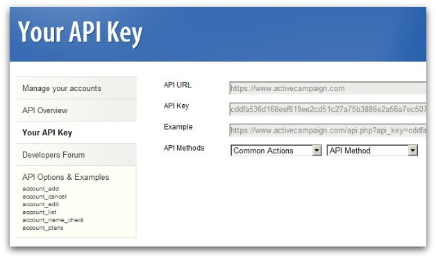 Activecampaign example reseller account manage for Api doc template