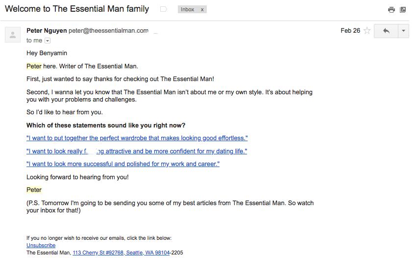 Peter Nguyen segmentation email