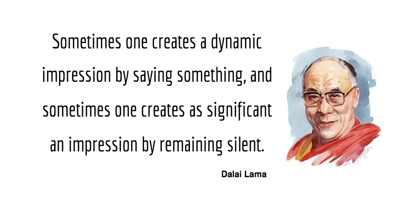 Dalai Lama quote on segmentation