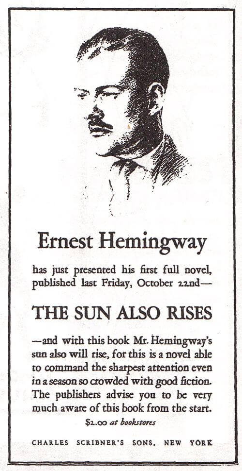 Hemingway first novel