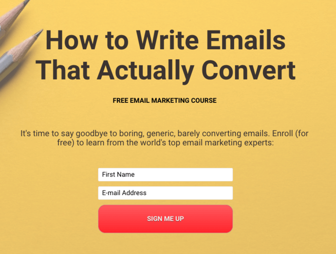 GetUplift email course