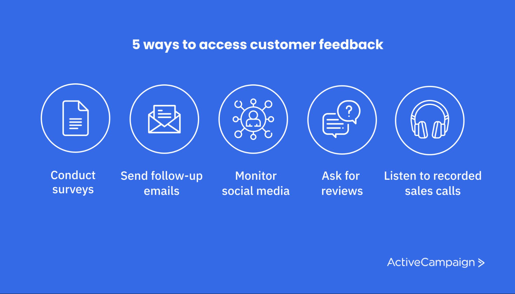 customer feedback improve customer experience