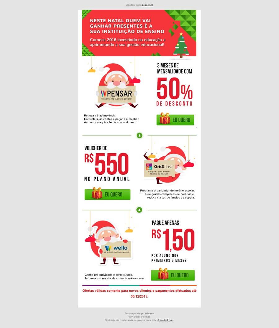 exemplos de email marketing 17