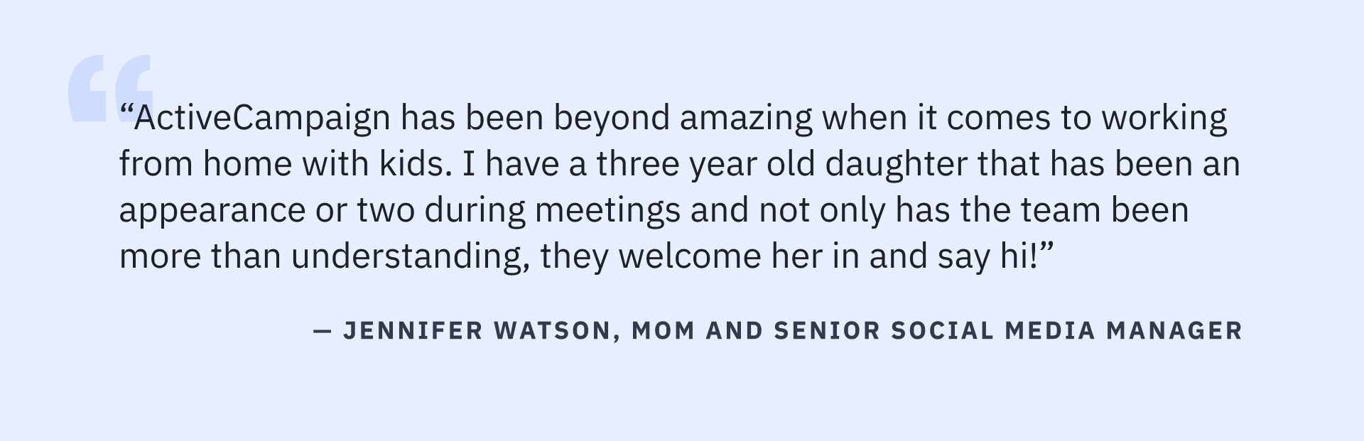 ActiveCampaign employee shares their experience as a Parent during Parents' Day 2021