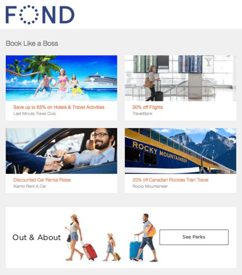 Fond newsletter example