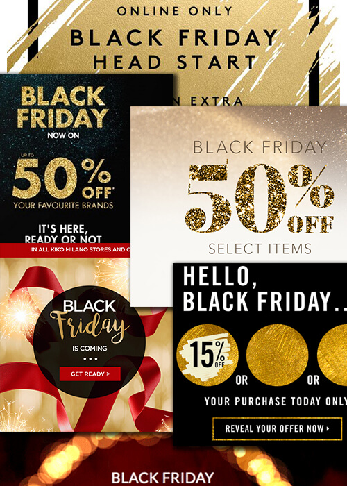 bad Black Friday email design