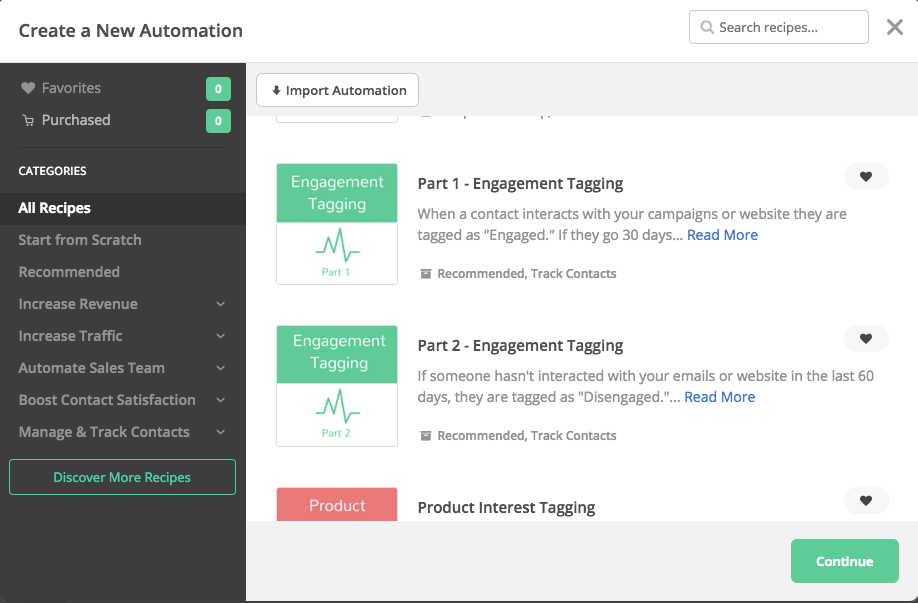 Engagement tagging automation