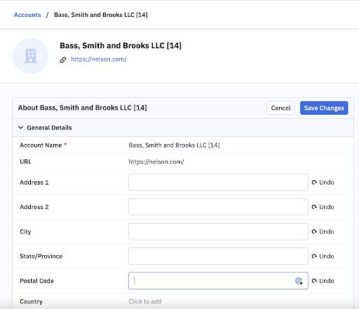 ActiveCampaign CRM edit multiple fields