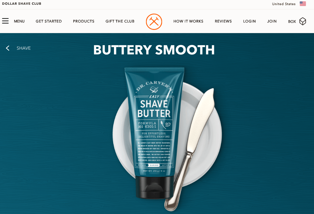 Shave butter creates upsell opportunities