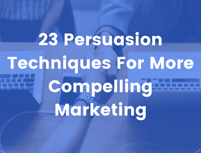 persuasion techniques for marketing