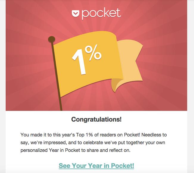 milestone email example