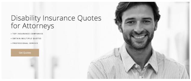 Codeless Dynamic Insurance Landing Page