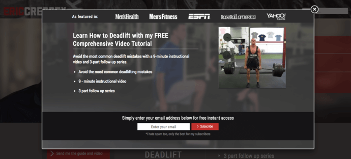 Cressey deadlift video