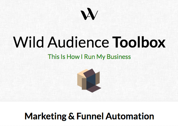 Wild Audience toolkit
