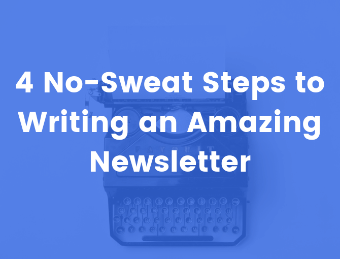 Writing a newsletter that people love to read